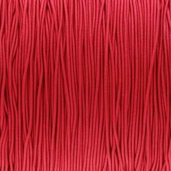 elastisches Band (50cm), 1mm, rund, rot rot