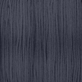 Satinband (100cm), 0,8mm breit, rund, dunkelgrau dunkelgrau