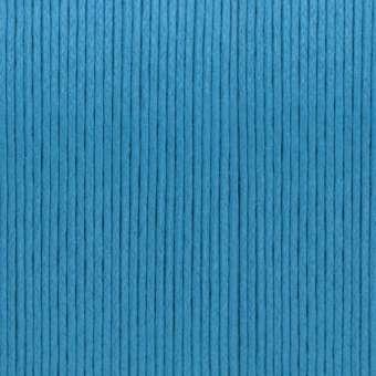 Gewachstes Baumwollband, 1,2mm breit, 100cm, blau blau