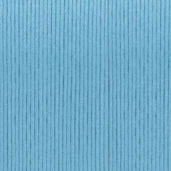 Gewachstes Baumwollband, 1,2mm breit, 100cm, hellblau hellblau