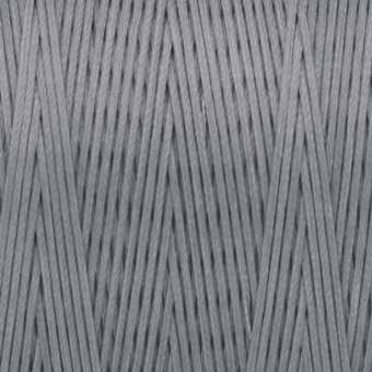 Gewachstes Band in Baumwolloptik (100cm), 1mm X 0,4mm breit, hellgrau hellgrau