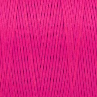 Gewachstes Band in Baumwolloptik (100cm), 1mm X 0,4mm breit, rosa pink