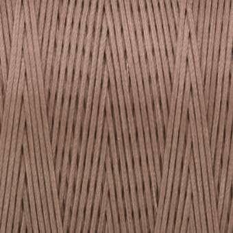 Gewachstes Band in Baumwolloptik (100cm), 1mm X 0,4mm breit, hellbraun hellbraun