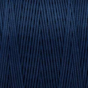 Gewachstes Band in Baumwolloptik (100cm), 1mm X 0,4mm breit, navy blau navy blau
