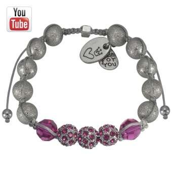 Video Anleitung Shamballa Armband