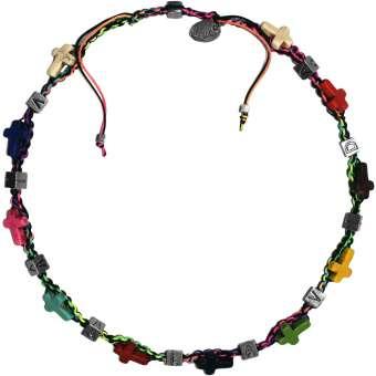 Anleitung Halskette mit Buchstabenperlen