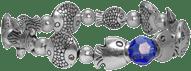 Metall Perlen Armband